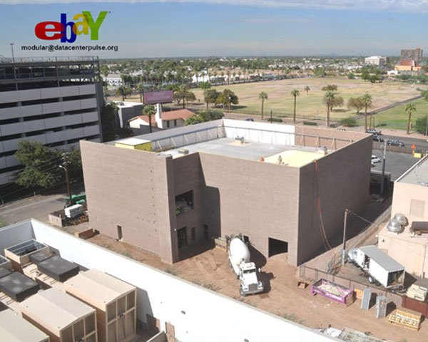 Constructing an Ebay Data Center in Phoenix, AZ
