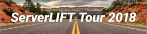serverlift road trip expo tour 2018