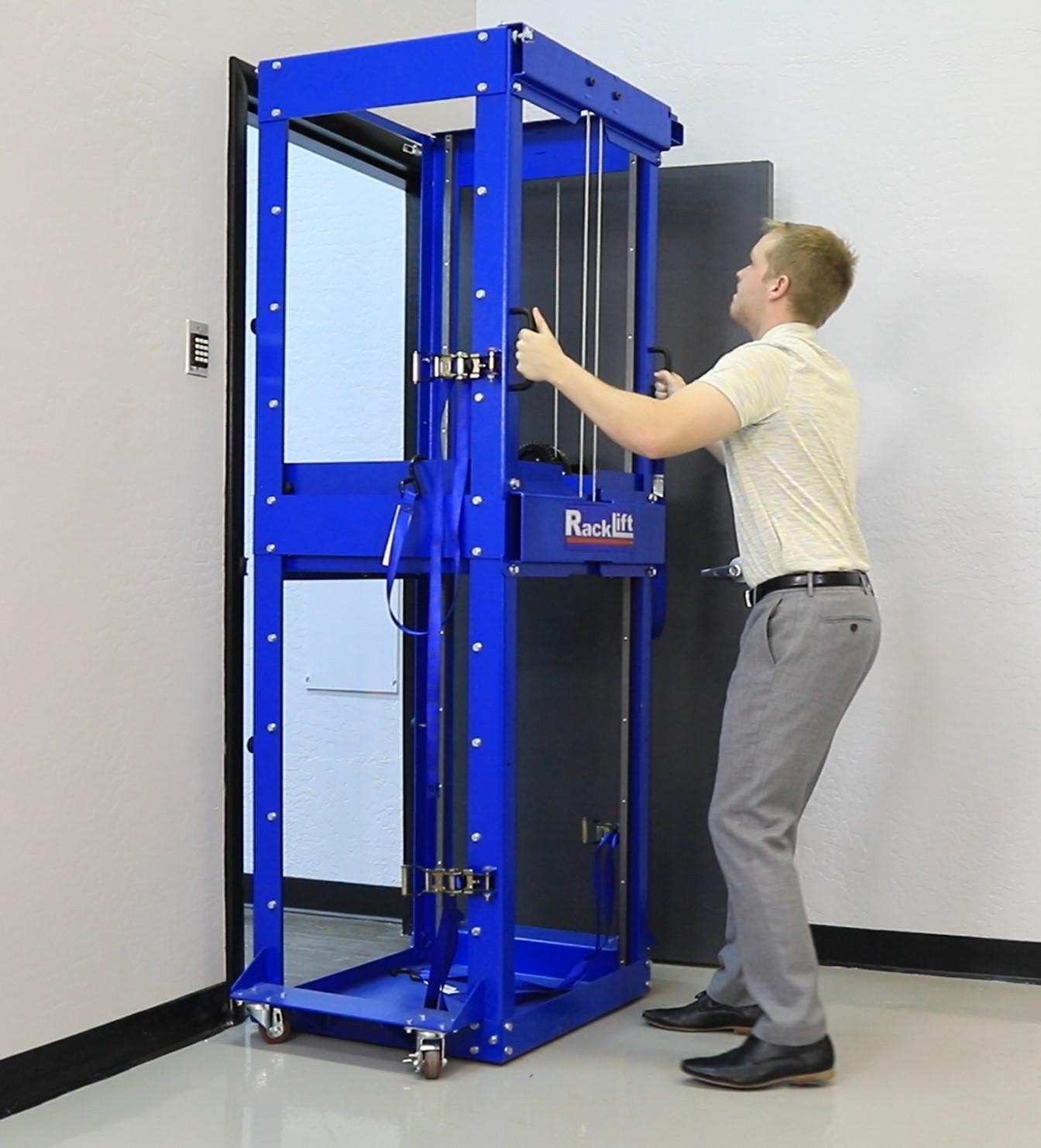 racklift doorway ServerLIFT