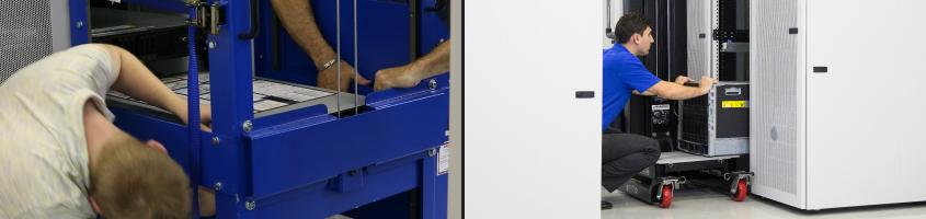 serverLIFT versus racklift