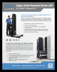 SL-1000X Spec Sheet