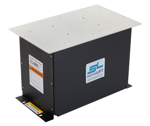 RL-500 increases the reach of any ServerLIFT machine by 8U