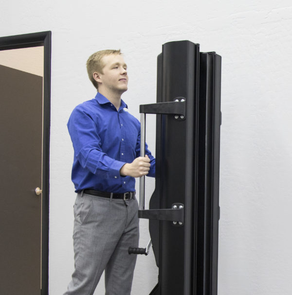 "As reported by one of our customers: ""In 15 minutes, we racked an HP chassis and 15 new hard drive enclosures, with only one engineer. Using our new lift is much safer and quicker than using 3 engineers."""