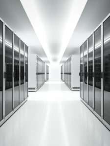 inside of a data center needing serverlift
