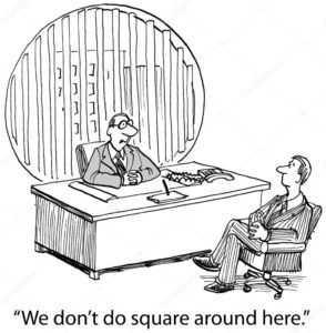 we don't do square around here cartoon
