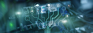 IOT, Internet of things telecommunication concept data center