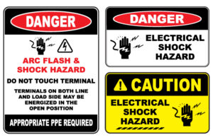 Electrical Safety and Warning Signs