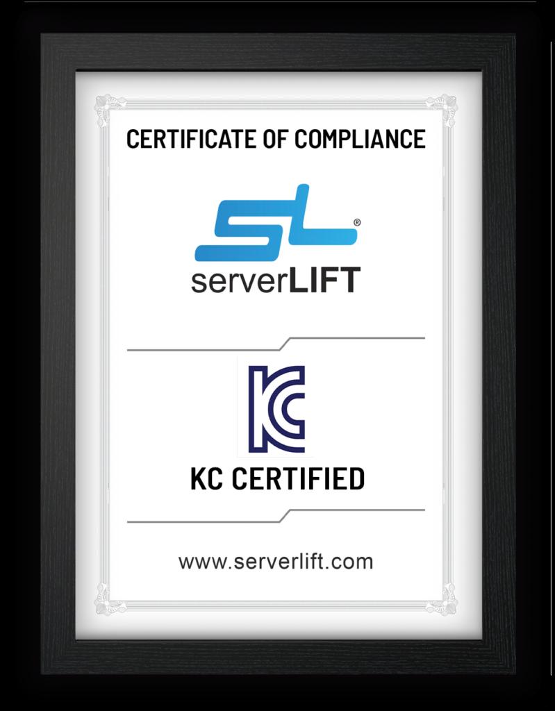 KC Certification Mockup