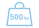 500-lb Weight icon